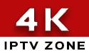 4K Ultra IPTV Zone Logo